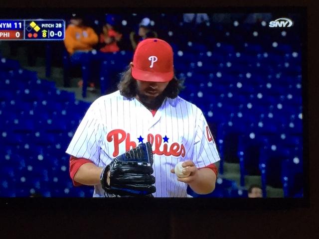 Phils - Empty vs. Mets 2