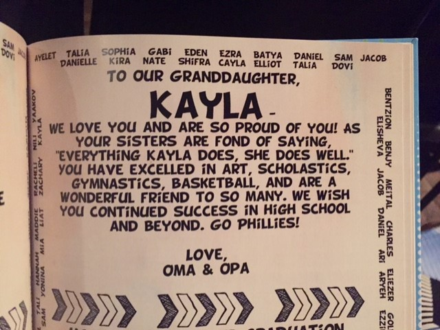Kayla Our Page