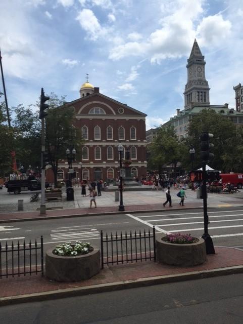 Boston Courtyard