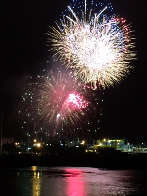 Fireworks Jenks 7-4-16