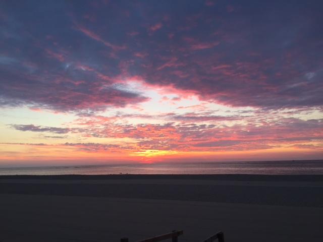 Sunrise Colors Horizon