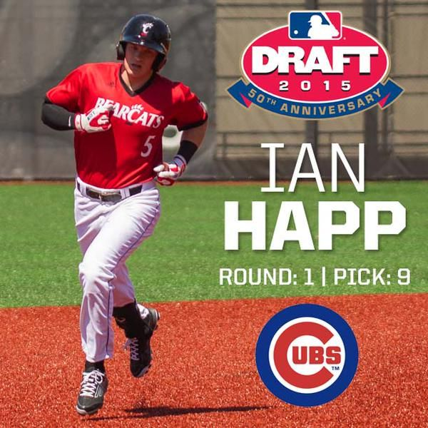 Happ - First Round Pick Cubs